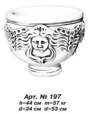 Flower bed vase of Art.No. 197