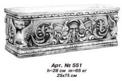 Tsvetochnik flowerpot of Art.No. 551