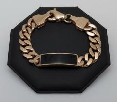 Браслет: Панцирь (золото 585 пробы)