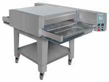 The conveyor furnace for pizza
