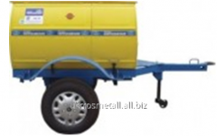 The unit pump mobile AND-100 for pumping of the
