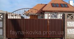 Недорогі ковані ворота. 4500 грн.
