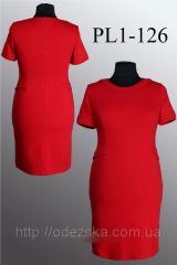 Купить женское трикотажное платье платье