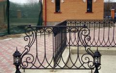 Кованый забор №8