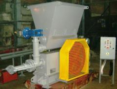 Press for production of fuel briquettes AP-450
