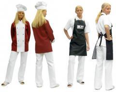 Халаты рабочие для поваров