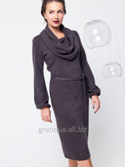 Платье Грэтта Темно-Серое