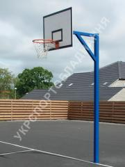 The rack is basketball, stree