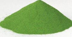 Powder indicator for magnetic powder control of