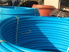 Pipes pressure head of PE-80 polyethylene