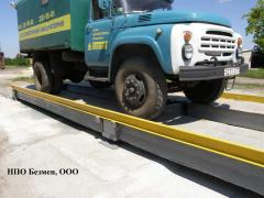 Весы автомобильные тензометрические ВАТ-40-ВАТ-60