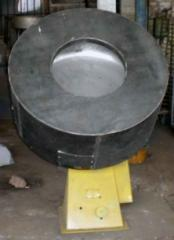 The equipment for roasting of peanut with shir