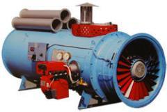 Теплогенераторы для отопления промышленных помещений ТГГ-0,29