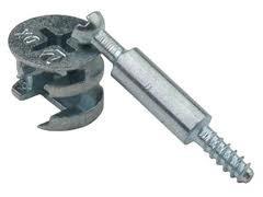 Минификс (соединитель мебельный) 45 х 6 мм,