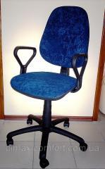 Кресло офисное ПОЛО АМФ-1 (ткань Розанна)