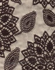 Ткань мебельная АЖУР- шенилл жаккардовый