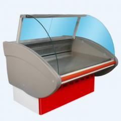 Medium temperature refrigerating show-windows of