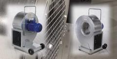 Вентиляторы для сушки -(стационарные) и активной