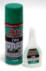 Клей AkFix 705 двухкомпонентный цианоакрилатный 50