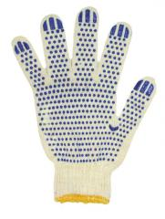 Перчатки шитые с ПВХ