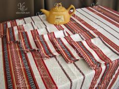 Cloth and 6 napkins