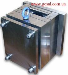 Equipment, compression molds. Design and
