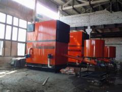 Торф фрезерный для производства брикетов