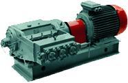 Pumps and units three-plunger krivoshipny 1.1PT,