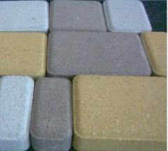 Paving slabs of color 40 mm wide color scale