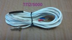 TP2/5000, THA (K) thermocouple, +600 °C,