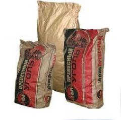 Paper bags with bituminous impregnation the paper