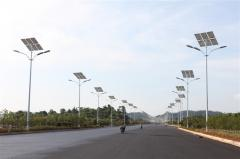 Autonomous street lighting on solar energy