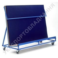 The cart for mats. Carts for a sports equipmen