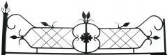 Ограды простые и кованные