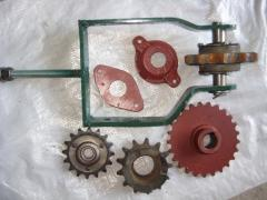 Spare parts to ZM-60/60A, ZPS-100, KShP-6.