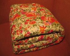 Одеяло ватное 150х210 см