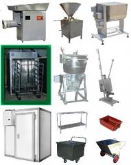 Miniplant for processing of meat 600kg/smenu, 1500
