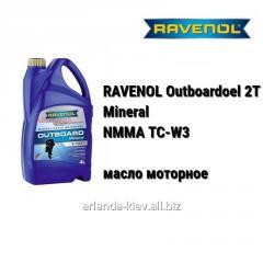 Моторное масло RAVENOL Outboardoel 2T Mineral