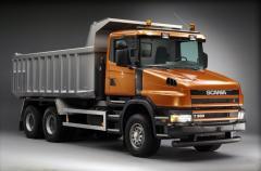 Hydraulics on Scania GR900