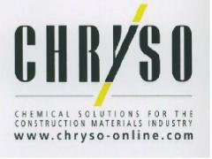 Softeners and additives for CHRYSO concrete