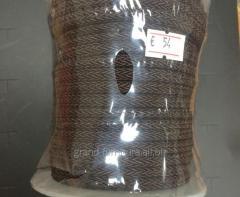 Шнур декоративный, коричневый dg022