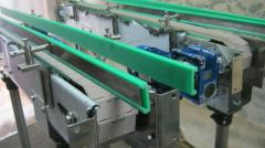 The conveyor is bottle