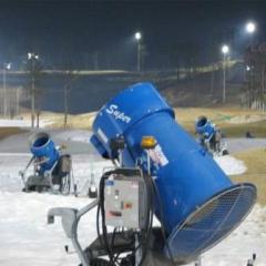 Snow generators, snow cannons