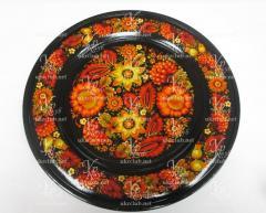 Painted souvenir plates. Plate D-400