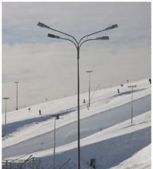 Verzinkt stadionlichtmasten