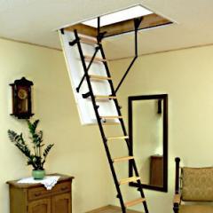 Garret ladders of Oman