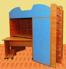 Bed - an attic Mishka