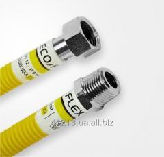Гофрированные гибкие нержавеющие шланги Газ/Супер