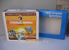 Упаковка кашированная с печатью