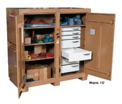 Cabinets for the tool. Warehouse equipment.